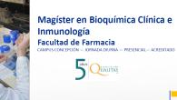 El propósito del programa de Magíster en Bioquímica Clínica e Inmunología, es brindar perfeccionamiento continuo a egresados y titulados en Bioquímica, Química y Farmacia o carreras equivalentes, para desarrollar investigación […]